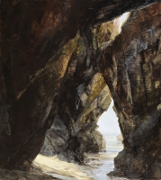 12. Cave system at Chapel Porth